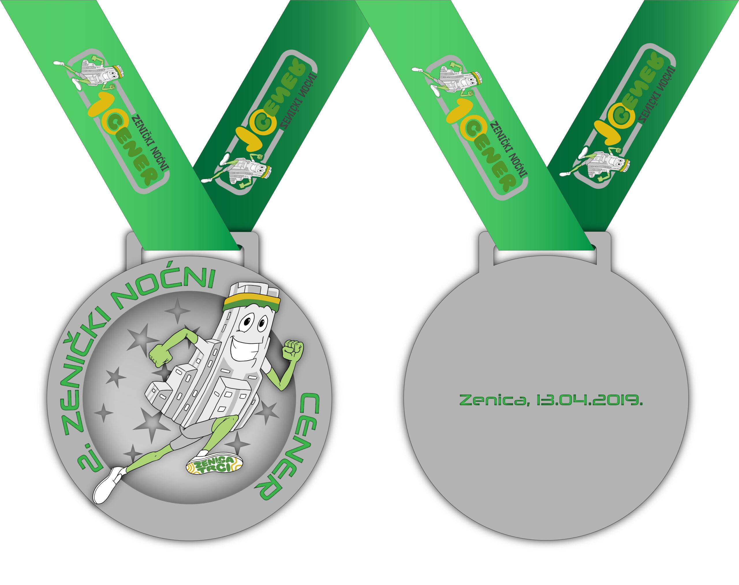 Medalja za Drugi zenički noćni cener