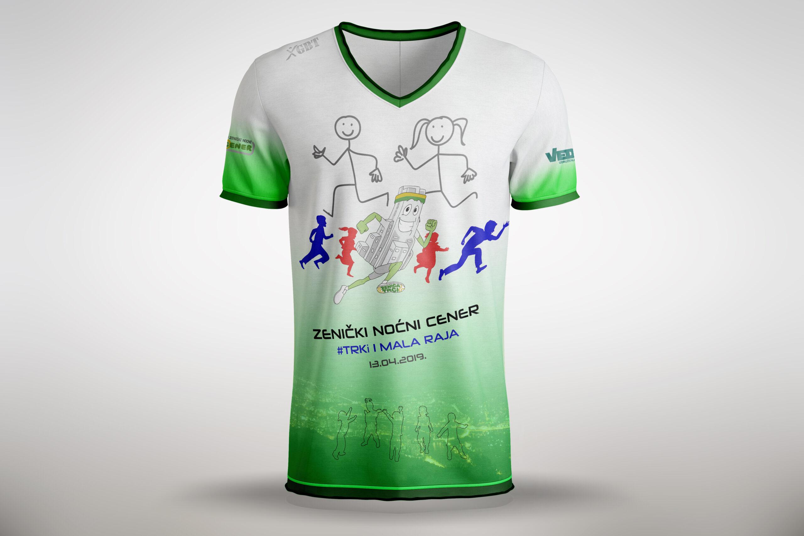 Majica za dječiju utrku
