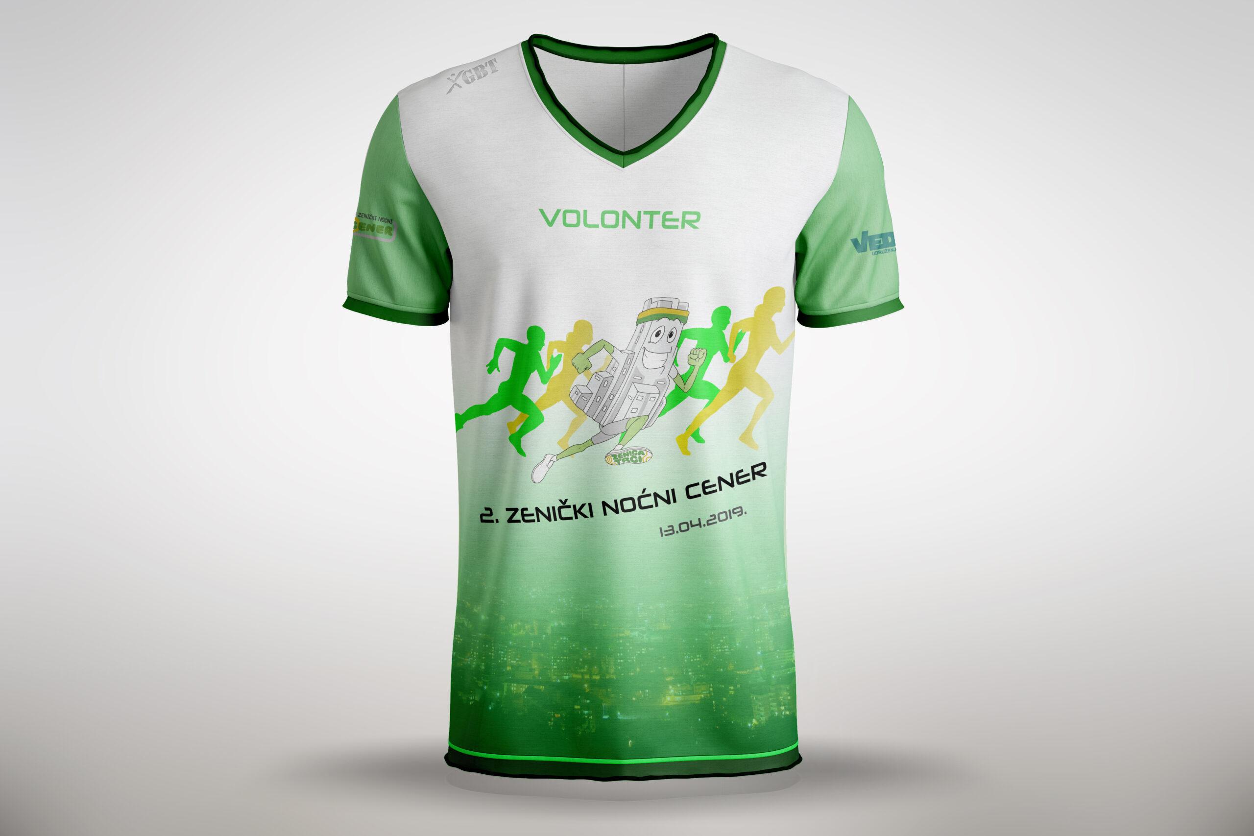 Majica za volontere